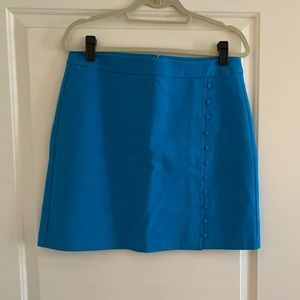 Loft never worn blue skirt